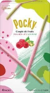 江崎グリコ ポッキー Couple de Fruits(フランボワーズ&ピスタチオ) 4袋 ×6箱