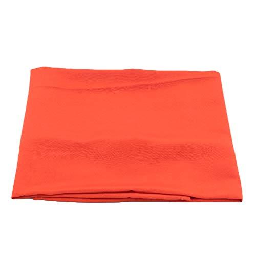 Yesiidor Solid Color Tischdecke Waschbare quadratische Leinwand Tischdecke für Hochzeitsfeier Buffettisch,Orange 2
