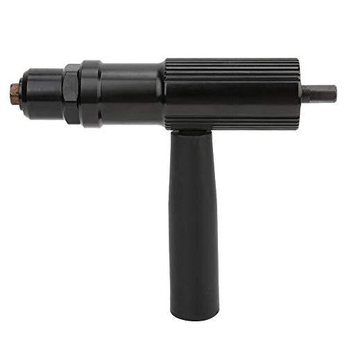 Elektro-Nietpistolen-Kit, Blindniet-Adapter-Kit für Akku-Bohrer, Nietkopf und Griffschlüssel mit 2,4/3,2/4,0/4,8 mm Durchmesser