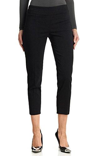 Zac & Rachel Women's Millenium Ankle Pants, Black, 8