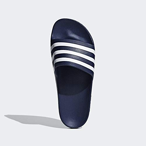 Adidas Men's Adilette Aqua Slipper, Blue Navy F35542, 9