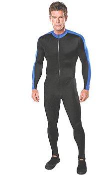 Henderson UV Sheild Unisex Dive Lycra Skin Body Suit Scuba Dive Diving Diver Surf Surfing Surfer Snorkel Snorkeling Wetsuit Wet Suit Swim Swimming Swimmer Rash Guard Authorized Dealer Full Warranty, Men's Xl or Wms 3xl