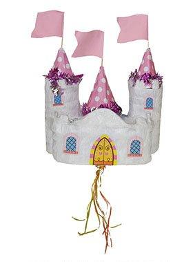 Petite pinata château de princesse 60 x 28 cm - taille - Taille Unique - 236745