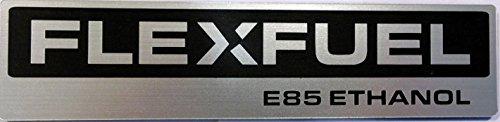 Flex Fuel E85 Ethanol Corn Fed Emblem Stick Anywhere 5.5 inch X 1.25 inch