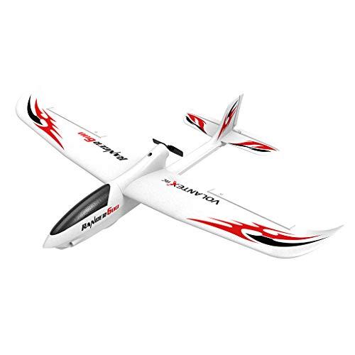Remote Control Plane,KIOLPO 761-2 RTF Raptor Model RC Plane Glider,761-2 RTF Beginner Fighter Airplane,Drone EPP Remote Control RC Airplane RTF Kids Toy Jet with 6-axis Stabilizer System Ready to Fly