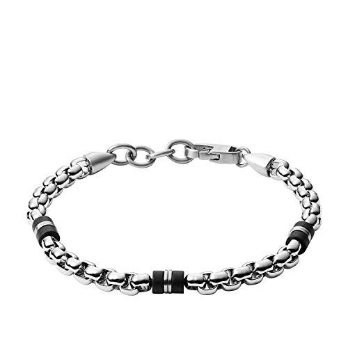 Fossil Herren Armband - Black Marble, JF03313040