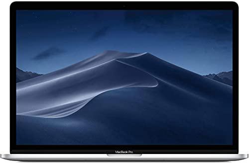Apple MacBook Pro 15.4' con Touch Bar (i7-8750h 2.2ghz 16gb 256gb SSD) QWERTY U.S Teclado MR932LL/A Medio 2018 Plata (Reacondicionado)