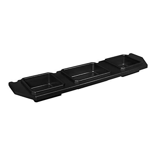 ESP Truck Accessories Plastic Under Seat Storage for 2014-2019 Toyota Tundra CrewMax