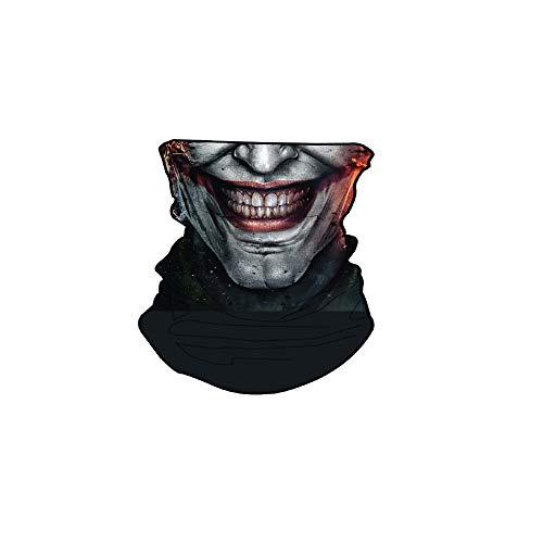DC Comics unisex adult Gaitor Neck Gaiter, Black, One Size US
