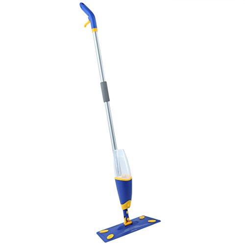 Levivo Lavapavimenti a spruzzo, pratico lavapavimenti da utilizzare di tanto in tanto, serbatoio dello spruzzatore per acqua o detergente, per soggiorno, mocio, pulizia casa, pulizia, mocio pulizia