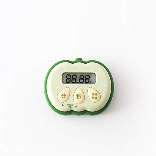 Utensilios de Cocina Forma MMGZ Creativa de Frutas Tiempo Cocina Gestor Contador de Tiempo mecánico de Aprendizaje Alarma de recordatorio (Fresa) (Color : Color2)