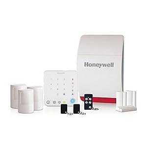 Honeywell Home Honeywell Hs351S Wireless Family Home Alarm with Intelligent C