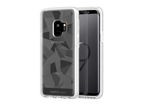 Tech21 Evo Edge for Samsung Galaxy S9 - Clear/White