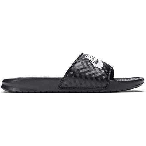 Nike Damen Benassi Jdi Dusch- & Badeschuhe, Schwarz (Black/White), 38 EU