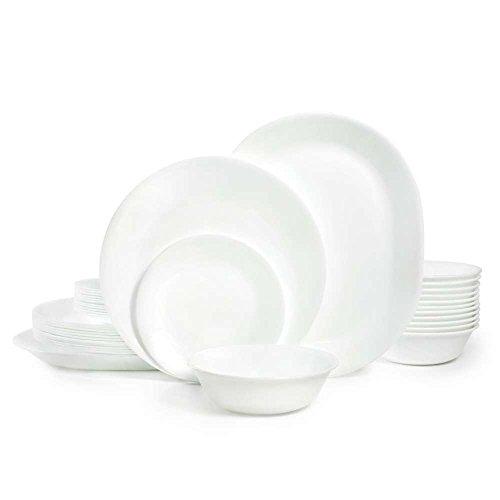 Corelle Winter Frost White Dinnerware Set (38-Piece, Service for 12)