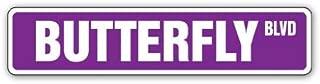 BUTTERFLY Street Sign new xing gardener monarch net   Indoor/Outdoor   18