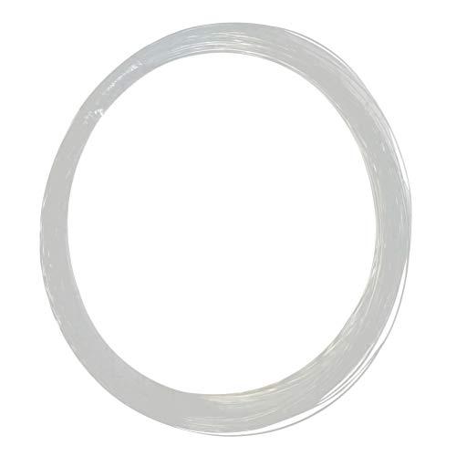 FRCOLOR Glasfaser Lichtleiter Lichtfaser 100 Meter Lange 0,75mm für Faseroptik Licht Led Nachtlicht DIY...