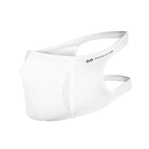 McDavid Unisex-Adult Sport Face Mask Headband, Weiß, L