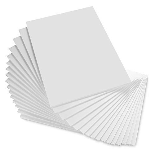 A3-Schaumstoffplatte, A3, 5 mm Styroporschaum, 297 x 420 mm, weiß, 16 Stück