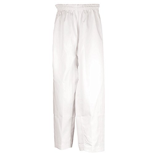 Tiger Claw Martial Arts Pants White Poly/Cotton #5