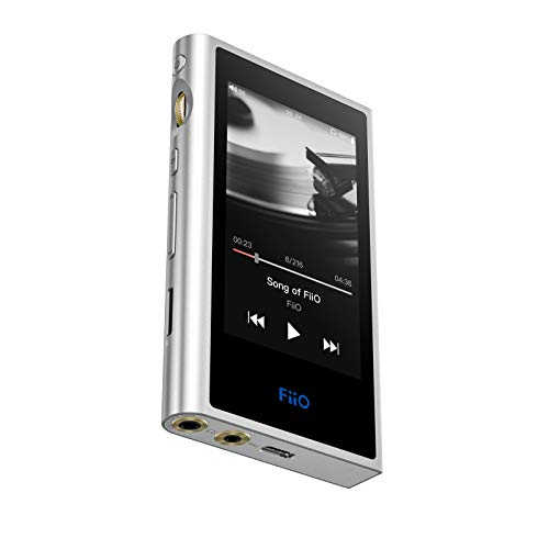 FiiO M9 Hi-Res Android DAP with 3.5mm/2.5mm Outputs Colour Silver
