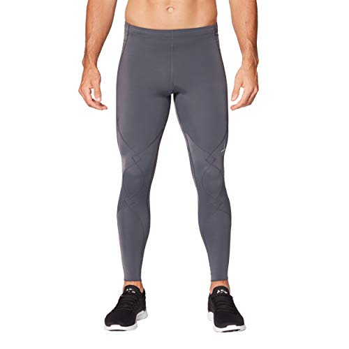 CW-X Herren Expert 2.0 Joint Support Compression Tight Eng, Asphalt, Small