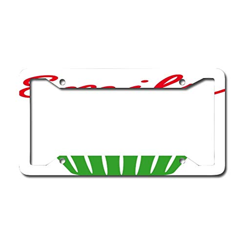Library design Your License Plate Frame Auto Truck Car Front Tag Personalized Metal License Plate Frame 6'x12'. Christmas Cupcake Baking