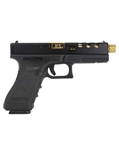 POSEIDON - B&W PBW-H17BG Pistol GBB - Black/Gold