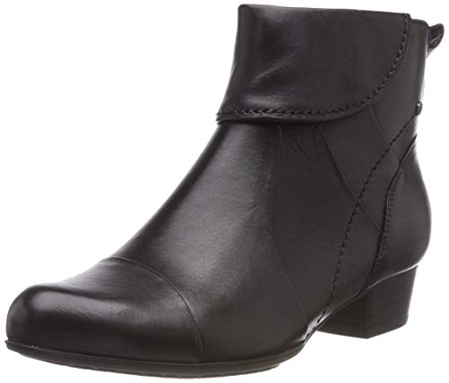 Be Natural Damen 25315-21 Stiefeletten, Schwarz (Black Uni 007), 38 EU