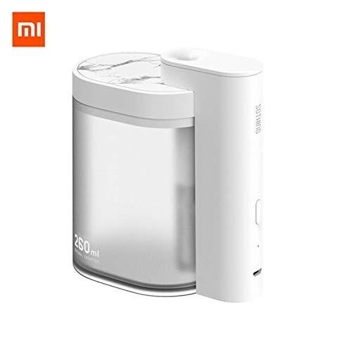 Huishoudelijke Mute luchtbevochtiger 260ml Ultrasone luchtbevochtiger Zuiverende luchtbevochtiger USB opladen, wit