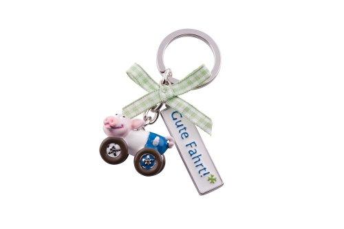Gift Company Piggy Schlüsselanhänger, Gute Fahrt