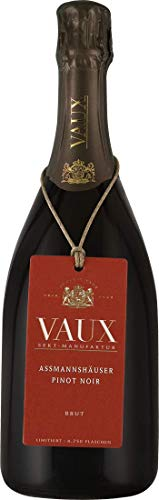 Schloss Vaux Assmannshäuser Pinot Noir Brut 2014 extra brut (0,75 L Flaschen)