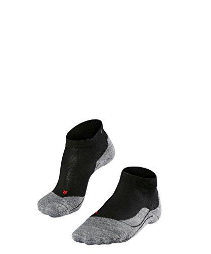 FALKE Damen Laufsocken RU4 Short - Baumwollmischung, 1 Paar, Schwarz (Black-Mix 3010), Größe: 37-38