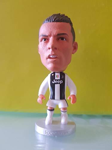 NiDea ND_Juventus 2019 Cristiano Ronaldo CR7 6 cm Harz Sockel Ronaldo