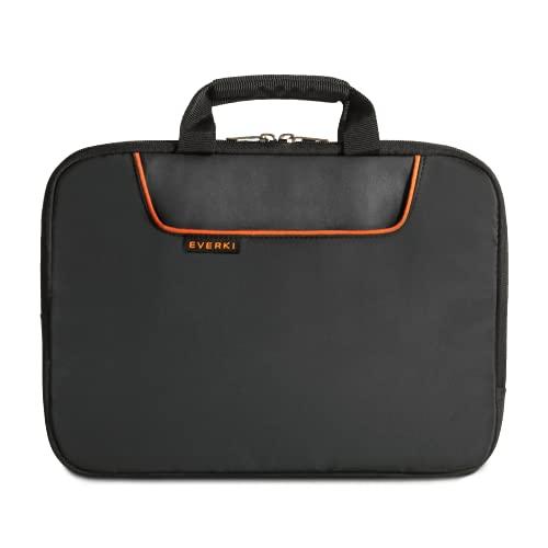 Everki Laptop Sleeve 808 - Funda Protectora para portátiles de hasta 11,6 Pulgadas (29,5 cm) con Acolchado de Espuma de Memoria, Asas de Transporte y Compartimento para Accesorios