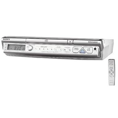 Sony ICF-CD543RM AM/FM/TV/Weather Clock Radio/CD Player