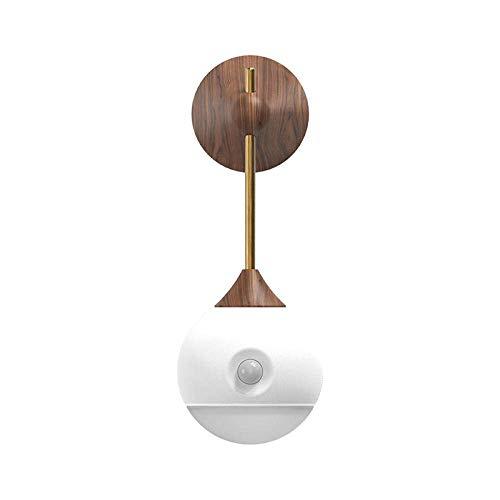 Nachtlicht Mensch Induktionslampe USB Wiederaufladbare Nachttischlampe Dimmbare Nachttischlampe LED Nachtlicht zum Lesen im Arbeitszimmer, Kleiderschrank, Schrank, Schrank, Küche, Treppe usw