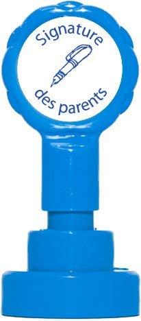 Teacher Stamps BR052CM Tampon auto-encreur pour Enseignants avec Motif Signature des parents