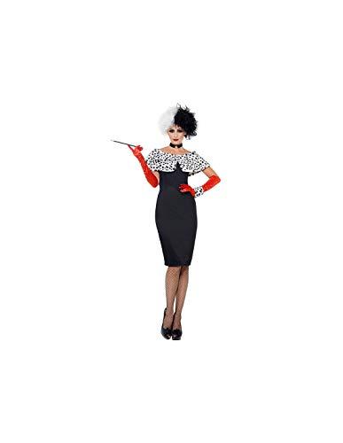 DISBACANAL Disfraz Cruella Deluxe para Mujer - -, M