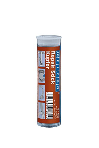 WEICON 10530057 Repair Stick Kupfer 75 g 2 Komponenten Epoxidharz Spezialkleber stark, 57g