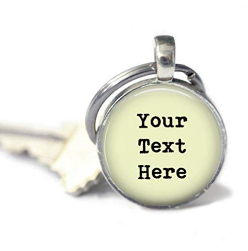 because meet you Your Text HERE Keychains,Key Ring, Gifts for her,Key Fob
