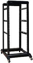 27U 4 Post Open Frame 19'' Server/Audio Steel Rack Deep from 16