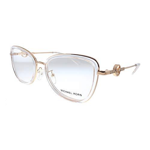 Michael Kors Florence MK 3042B 1108 Rose Gold Metal Butterfly Eyeglasses 53mm