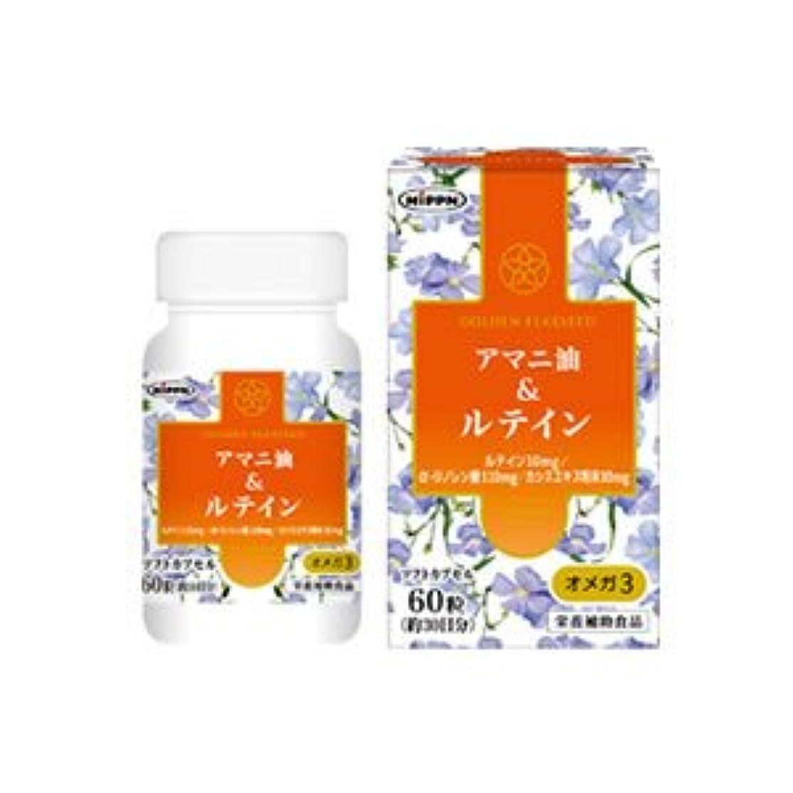 必要条件繊維ペインギリックアマニ油&ルテイン 60粒(お買い得3個セット)