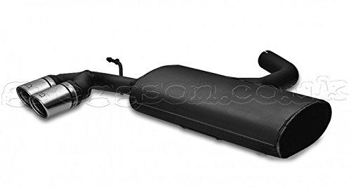 Sport Exhaust 108-105//07-2 Backbox Silencer Muffler