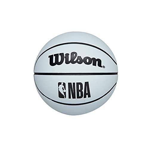 Wilson NBA Dribbler Super Mini Reacción Baloncesto Pelota Blanco