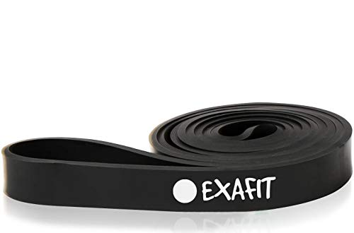EXAFIT Pull Up Assistance Bands Resistance Band 25-65 Lb Fitness Bands I Best Heavy Duty Stretch Exercise Bands for Body Stretching Powerlifting Workout Training I Gym Home Loop Mobility Bands Assist