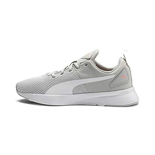PUMA Flyer Runner, Zapatillas de Running Unisex Adulto, Gris (Gray Violet/White/Peach), 38.5 EU