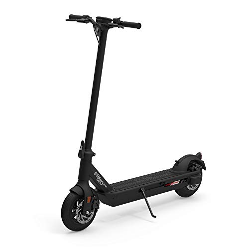 Govecs ELMOTO KICK E-Scooter mit Straßenzulassung (schwarz, max. 20 km/h, bis zu 20 km Reichweite, ab 14 Jahre, 2x18 V, max. 450 W, Power X-Change System von Einhell)