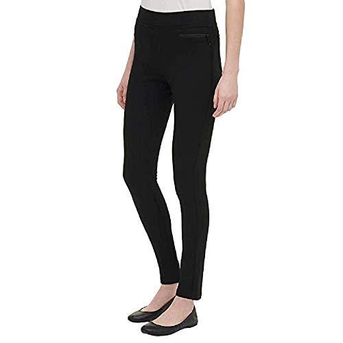 DKNY Ladies' Pull-on Ponte Pant (Small, Black)